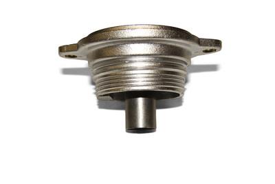 Bottom valve body without a valve