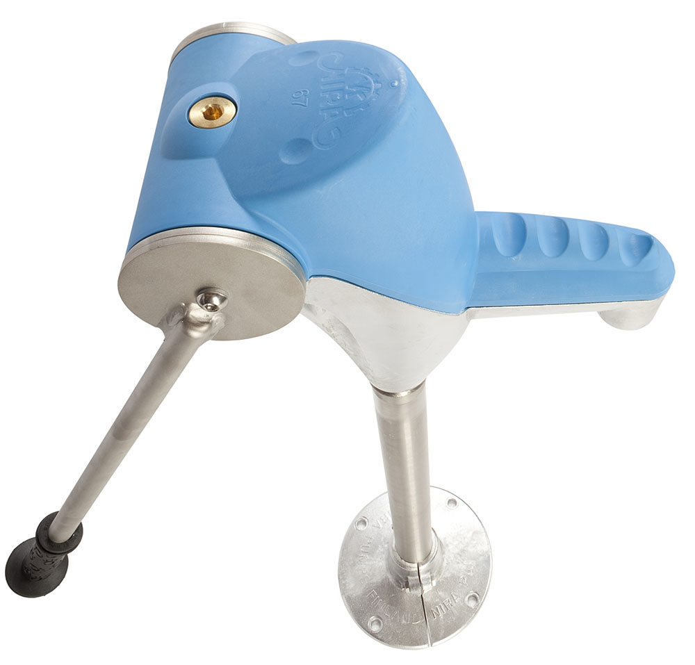 Nira 67 blue playground pump