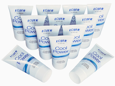 Lojer Cool Power, tub 12x150 ml, kylande kräm