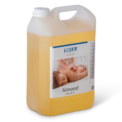 Almond hierontaöljy 5L astia