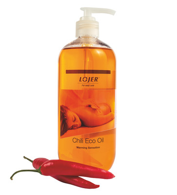 Lojer Massageolja Eco Chili 500 ml