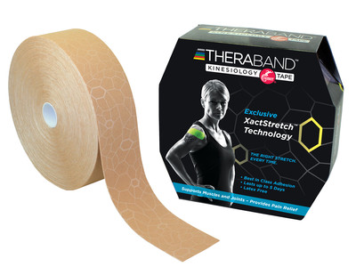 Thera-Band Kinesiotejp 31 m, beige