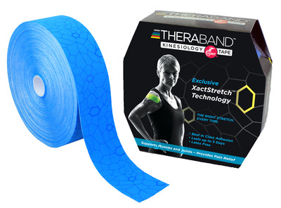 Thera-Band Kinesiotejp 31 m, blå