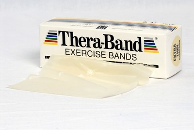 Thera-Band Träningsband 5,5 m, vit