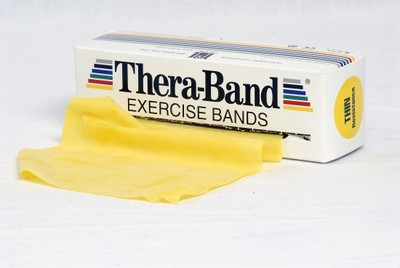 Thera-Band Träningsband 5,5 m, gul