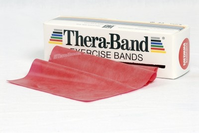 Thera-Band 5,5 m Rød (Medium)