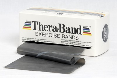 Thera-Band 5,5 m Sort (Svært Hard)