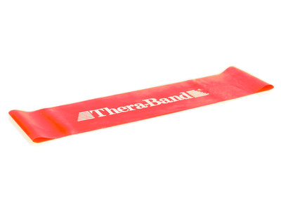 THERA-BAND Loop 30 x 7,5cm, punainen