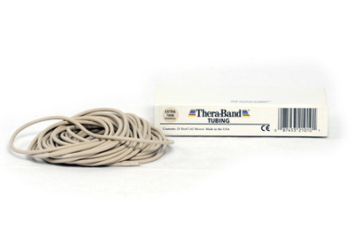 Thera-Band Tubing, 7,5 M - HVIT