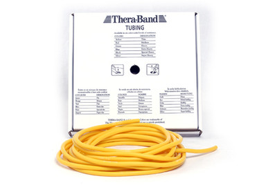 Thera-Band Tubing 7,5 m, gul