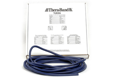 Thera-Band Tubing, 7,5M - BLÅ (EKSTRA HARD)
