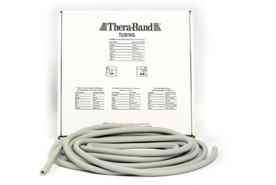 Thera-Band Tubing, 7,5M - Sølv (Super Hard)