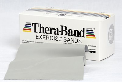 Thera-Band 5,5 m Sølv (Super Hard)