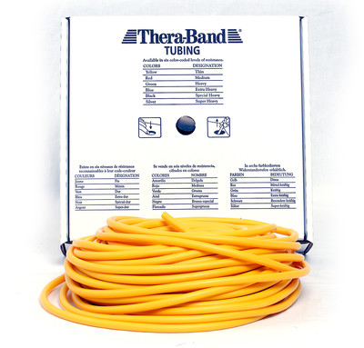 Thera-Band Tubing 30,5 m, gul