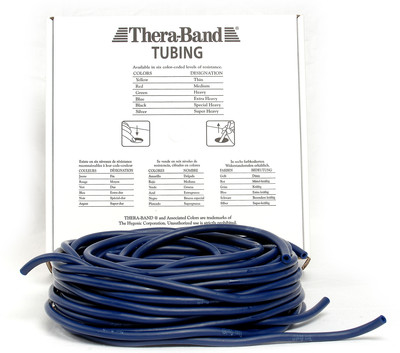 Thera-Band Tubing, 30,5M - BLÅ (EKSTRA HARD)