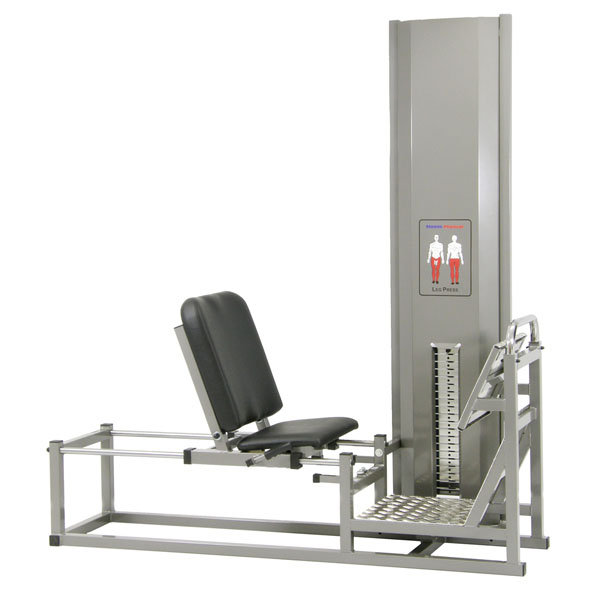 Steens Leg Press Sittande,viktskydd
