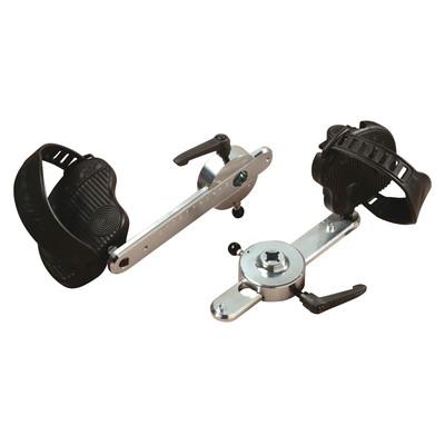 Ergo-Fit Ställbar pedal, par