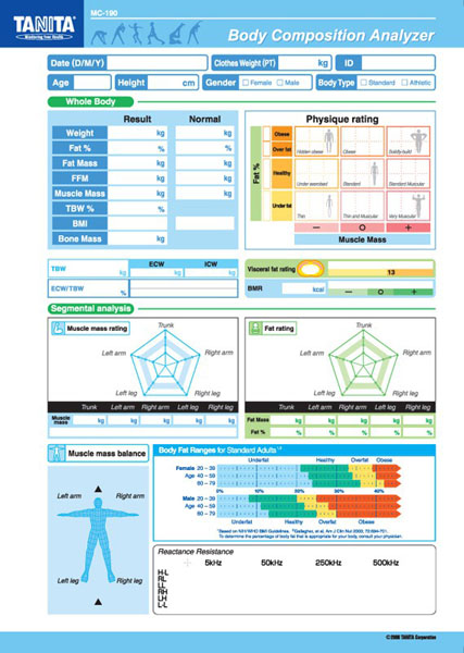 Tanita® Papir Mc 180 Norsk (100 Stk Pr.Pakke)