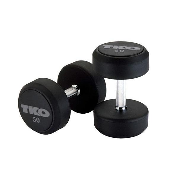 TKO® Håndmanual SETT 22-40kg rubber