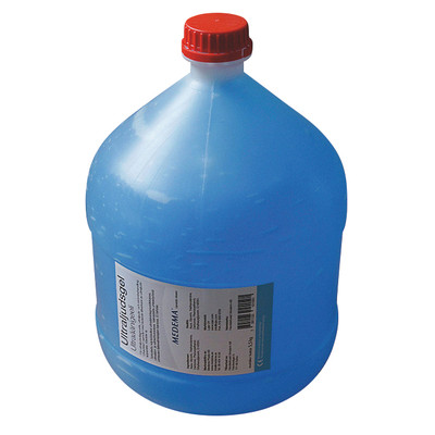 Ultraljudsgel Dunk 5,5 kg, ljusblå gel