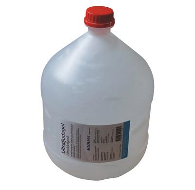 Ultraljudsgel Dunk 5,5 kg, ofärgad gel