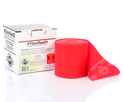 Thera-Band Latex-free punainen 22m