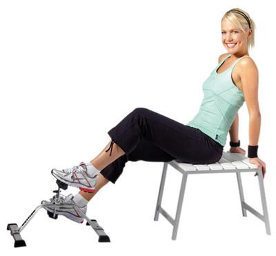 Lilltrampan, arm- ben- och sängcykel