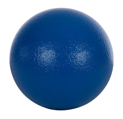 Softboll 18 cm, plastbelagd