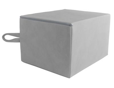 Psoaskudde 30x40x50 cm handtag, grå