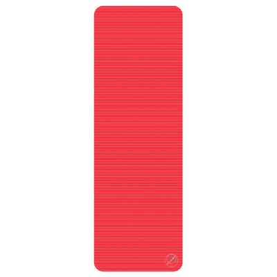 Profigym matta 180x60x1,5 cm, röd