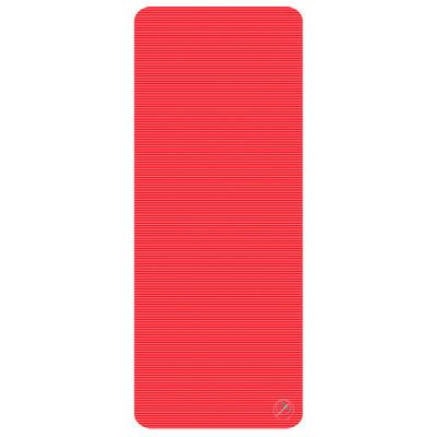 Profigym matta 190x80x1,5 cm, röd