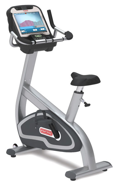 Star Trac 8-Ube Upright Bike W/Medi