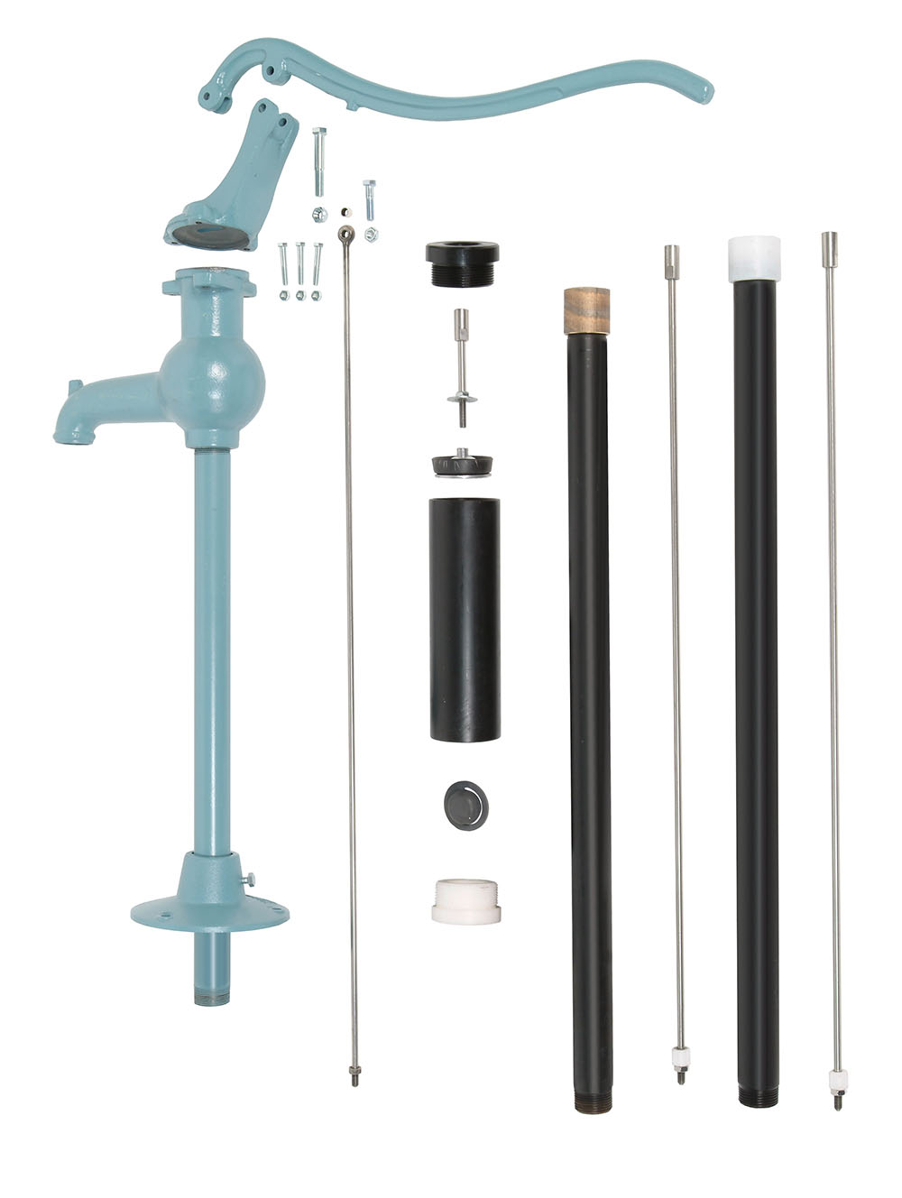 Nira 3B garden pump (2,50M)