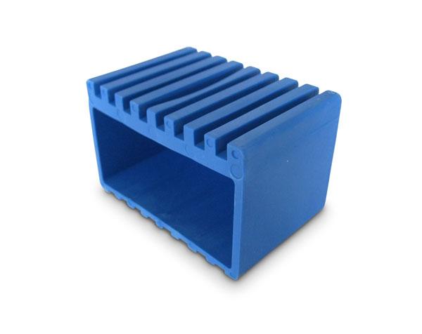 Stödfot Monark blå
