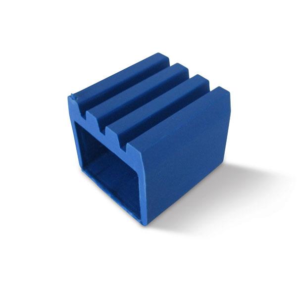Støttefot til Monark 808/809, blå