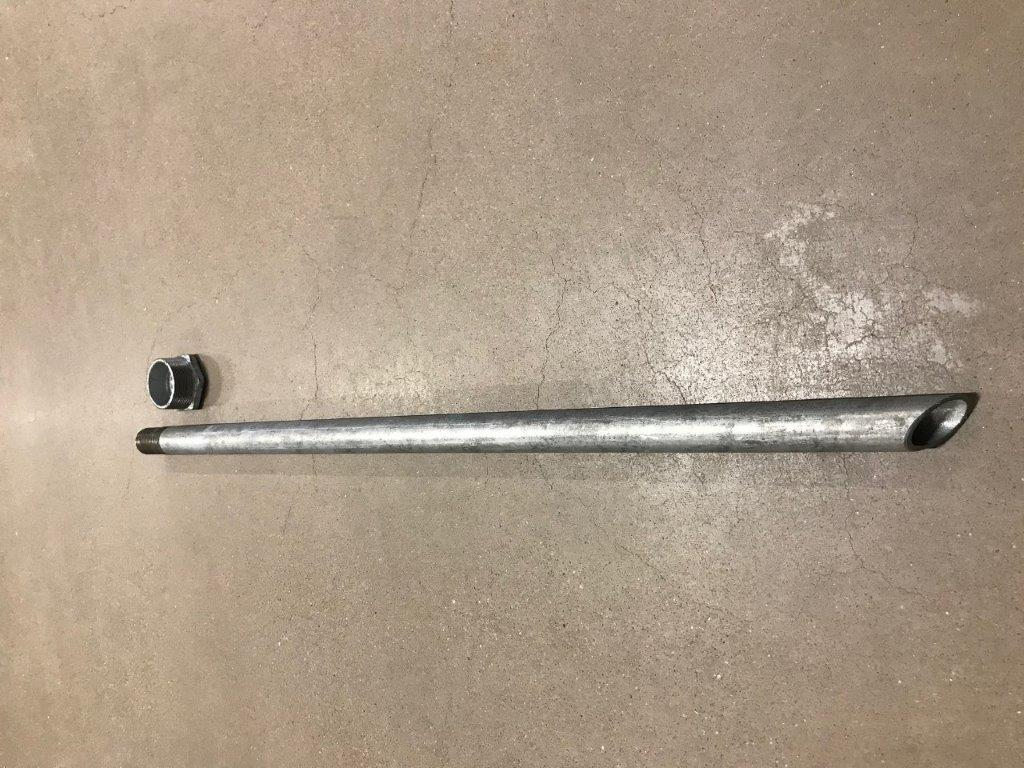 """Connecting-pipe R2""""/R1"""" (Nira 6B)"""