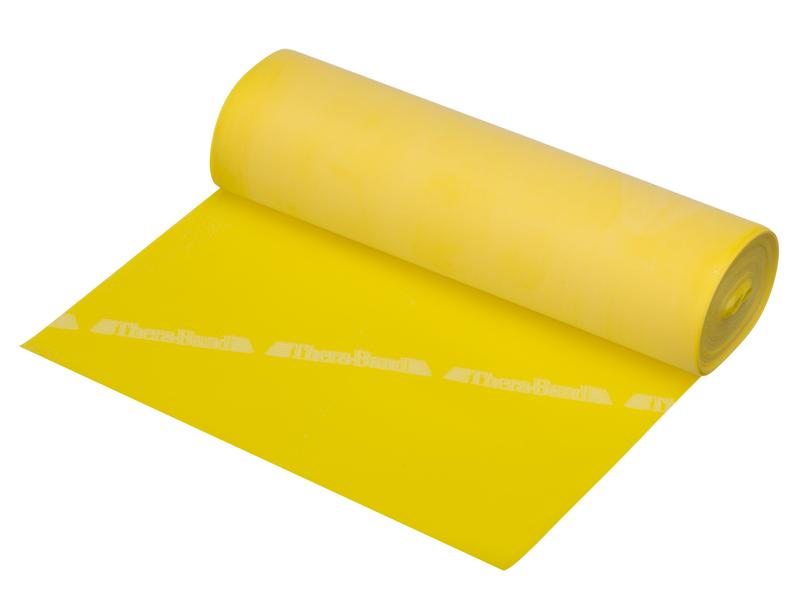 Thera Band vastuskuminauha 5,5 m keltainen