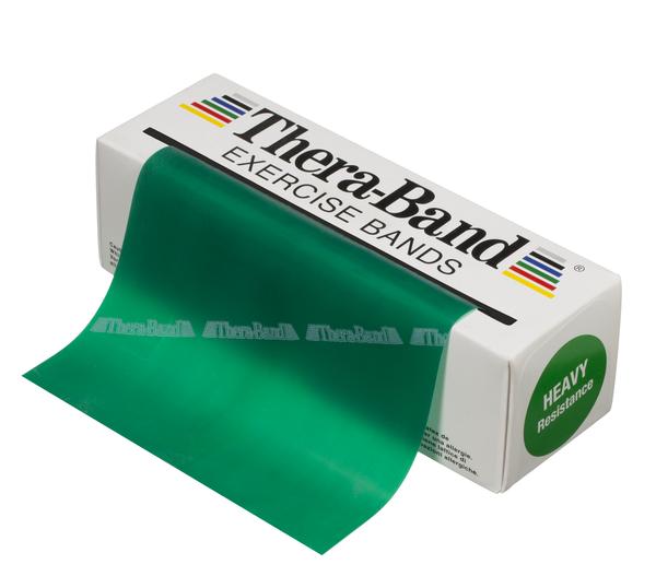 Thera Band vastuskuminauha 5,5m vihreä