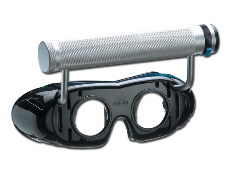 Frenzelglasögon inkl batterihandtag