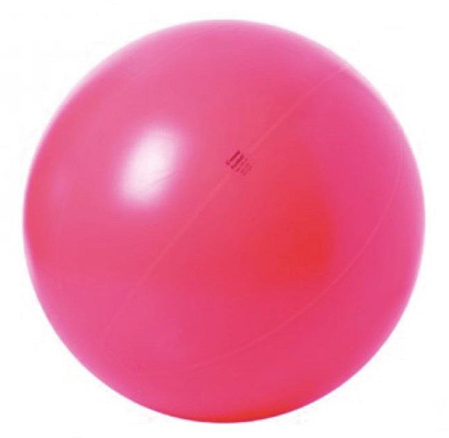 Togu Bobathboll ABS, 95 cm, röd