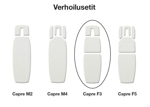 Capre F3 Verhoilusetti