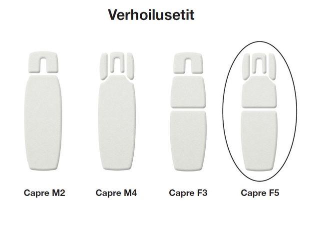 Capre F5 Verhoilusetti