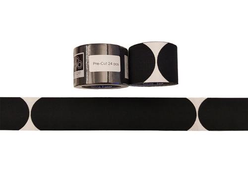BalanceTape Pre Cut 6 m svart, 24st