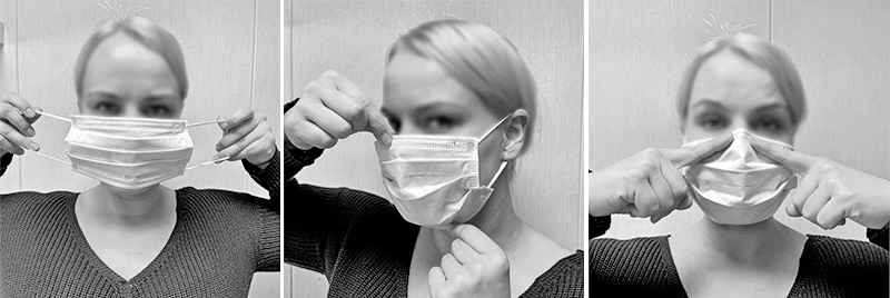 Kirurgiske munnbind kl IIR, 50 stk