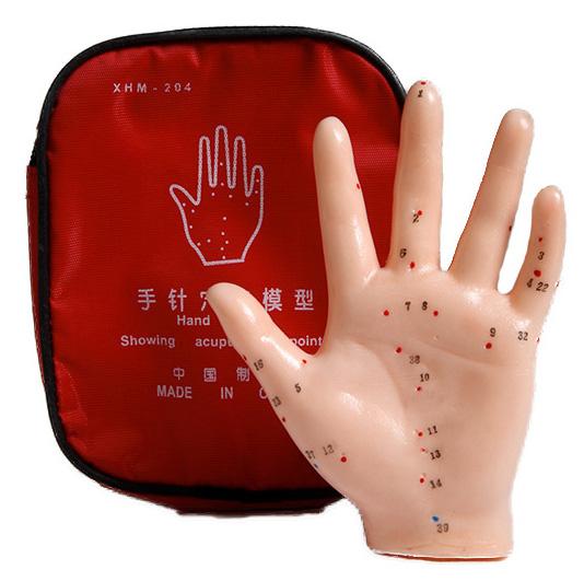 Akupunktiomalli - Käsi