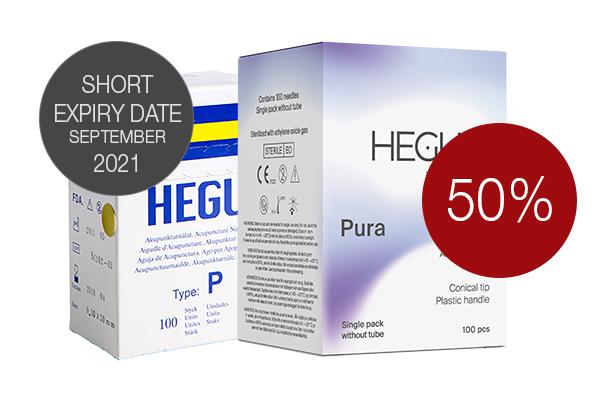 Akupunktioneula HEGU P-typ 0,35x50m