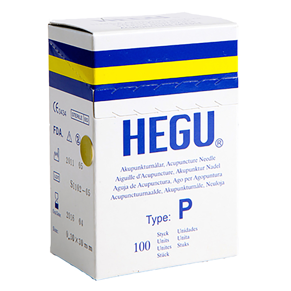 Akupunktioneula HEGU P-type 0,20x15mm