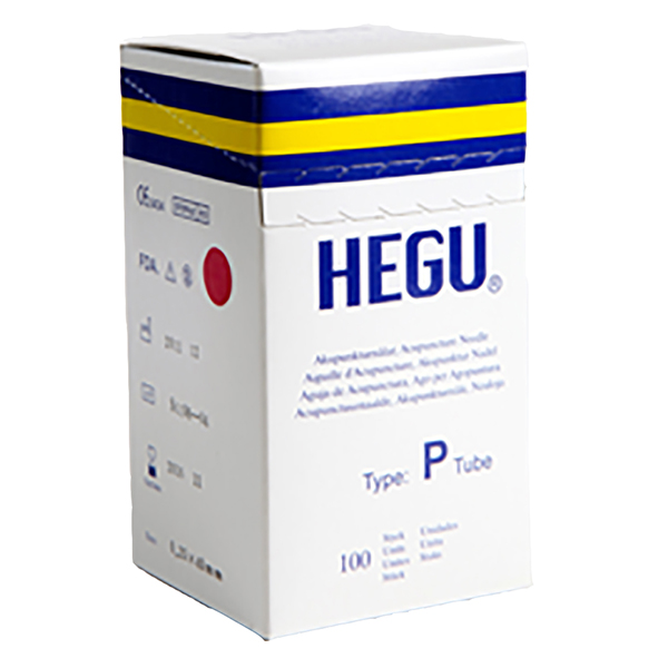 Akupunktioneula HEGU P-type 0,35x60mm