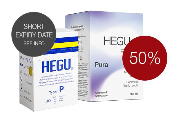 Akupunktioneula HEGU P-type 0,20x15
