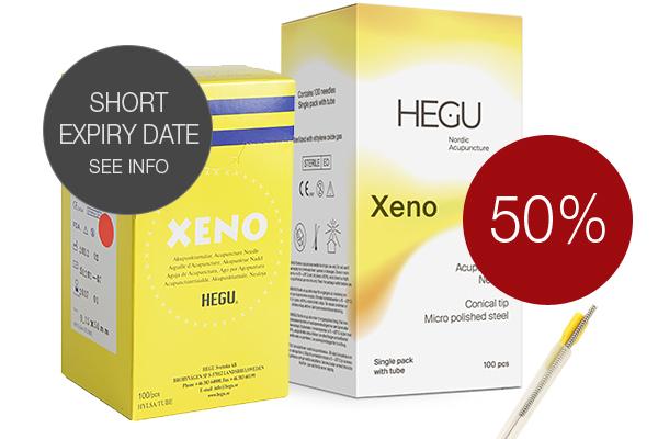 Akupunktioneula HEGU XENO 0,16x30mm